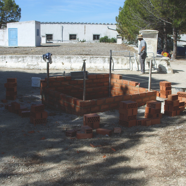 Construcción y reparación de arquetas