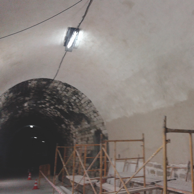 Tunel via verde