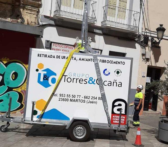 retirada de uralita en Córdoba